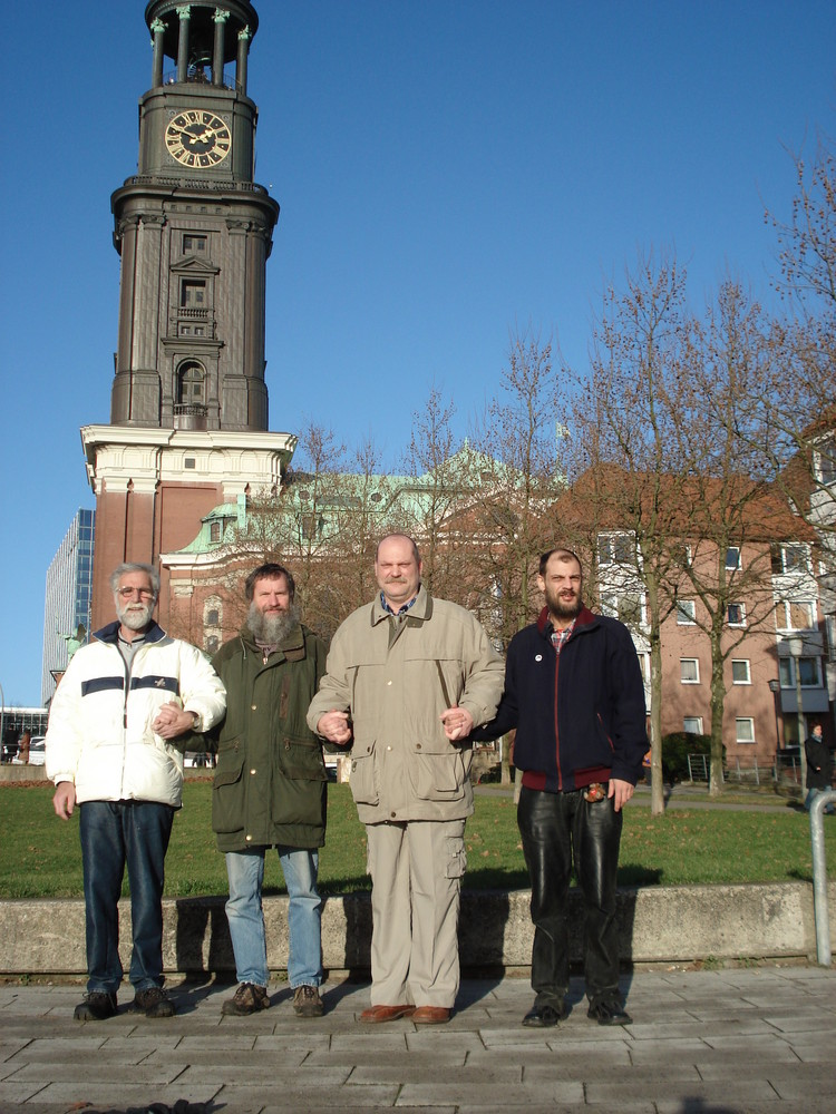 """wintertreffen der community """"Sweat Hands in Hamburg"""
