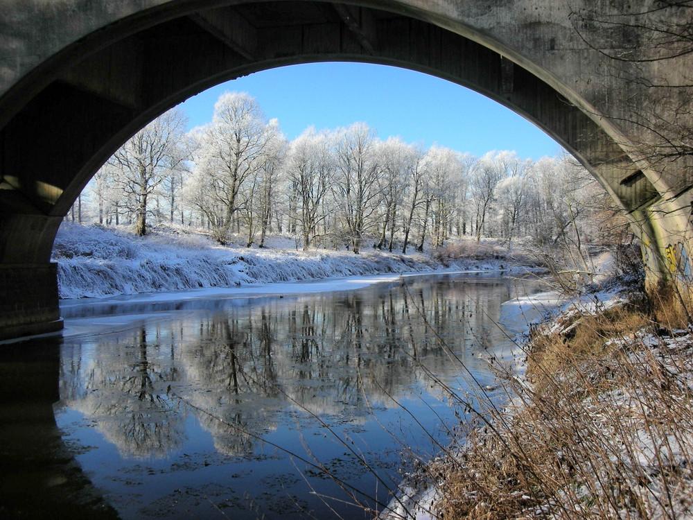 Wintertunnelblick