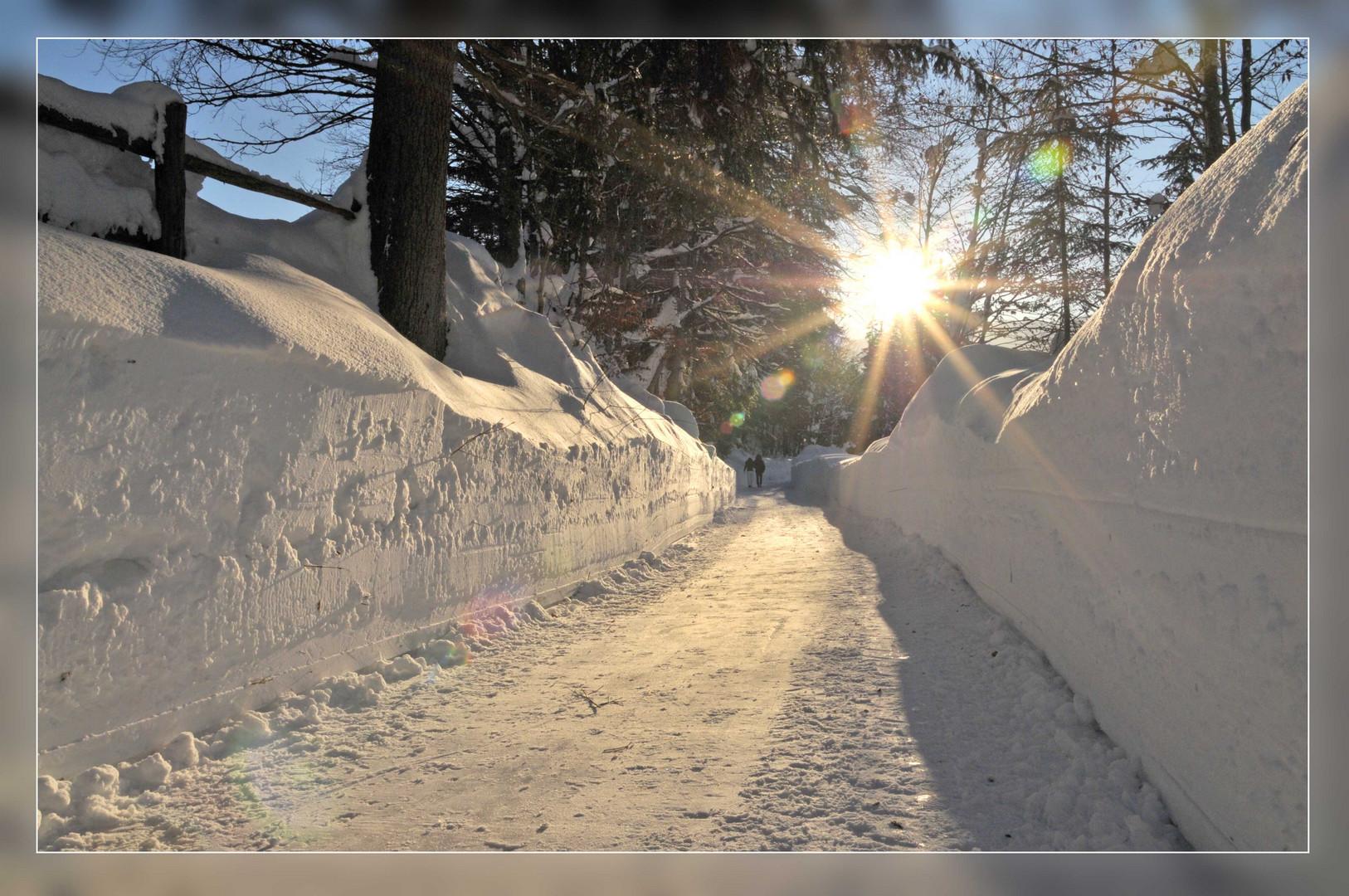 Winterwander-Weg in Maria Alm - HIntertal