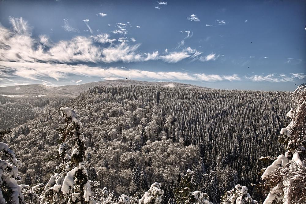 Winterwanderung im Harz 3