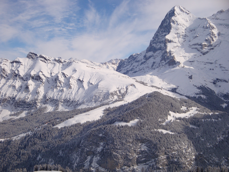 Winterwelt in der Jungfrauregion