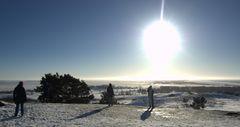 Winterwetter auf Hiddensee...