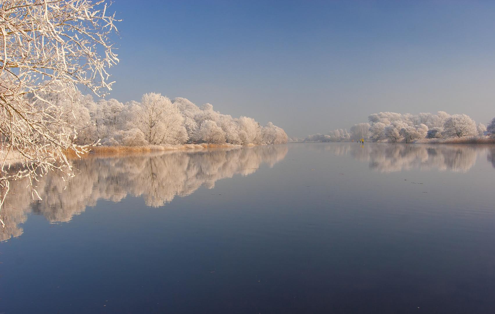 Winterwonderland an der Lesum #6