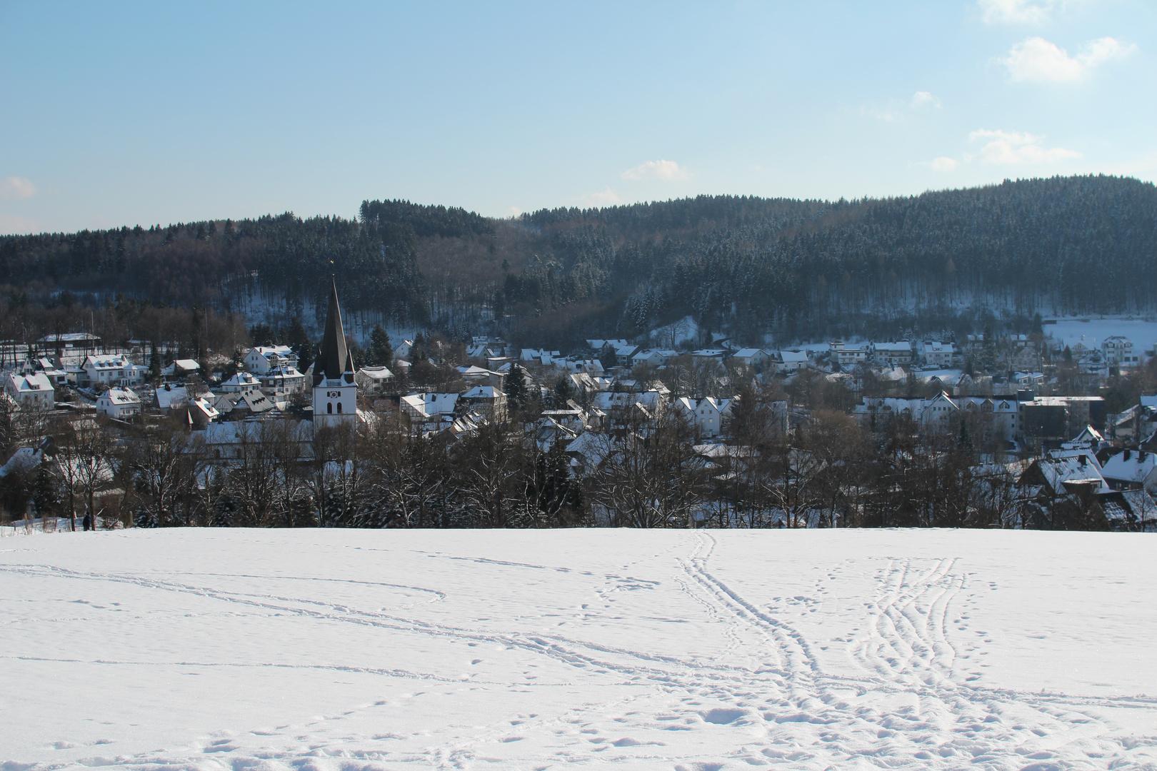 Winterwonderland Drolshagen