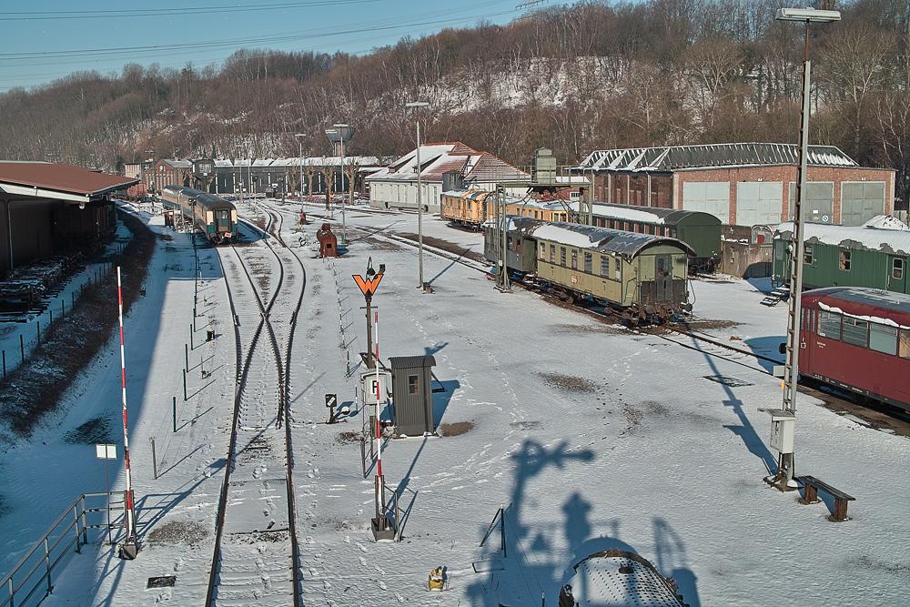 Winterwunderland Eisenbahnmuseum