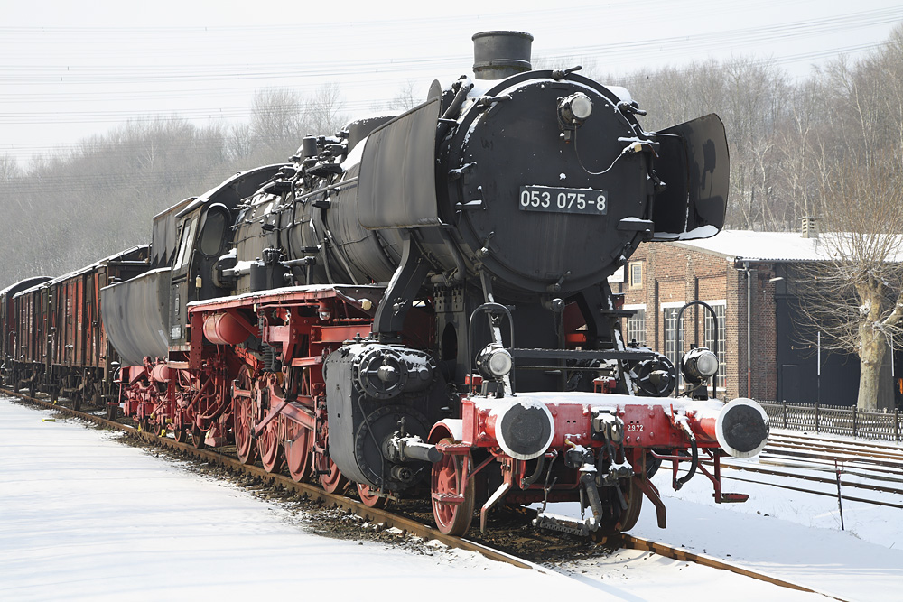 Winterwunderland Eisenbahnmuseum 1