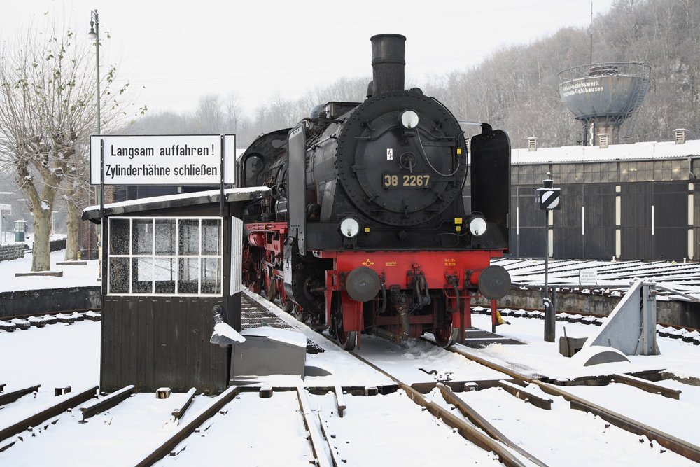 Winterwunderland Eisenbahnmuseum 3