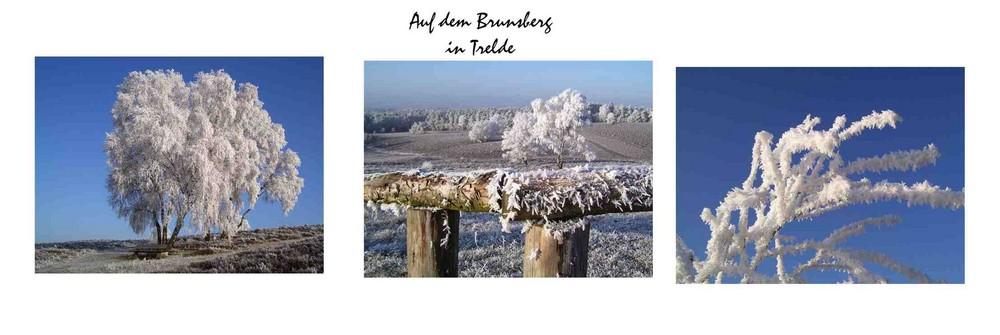 Winterzauber auf dem Brunsberg.....