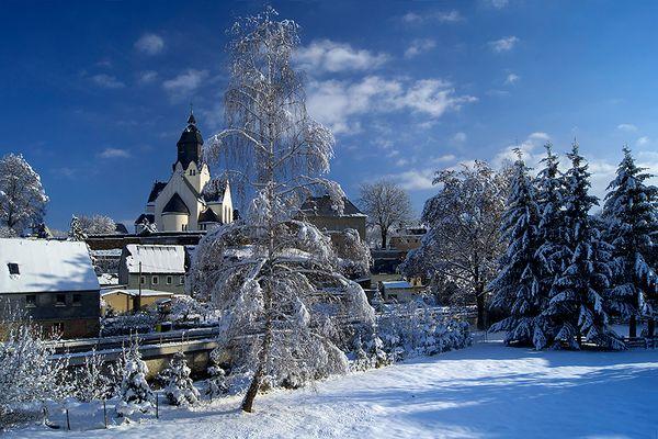 Winterzauber im Erzgebirge