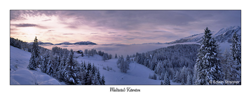 Winterzauber in Kärnten