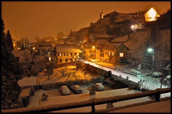 Winterzauber in Murten