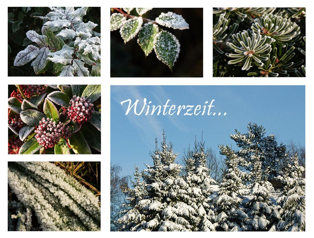 Winterzeit....