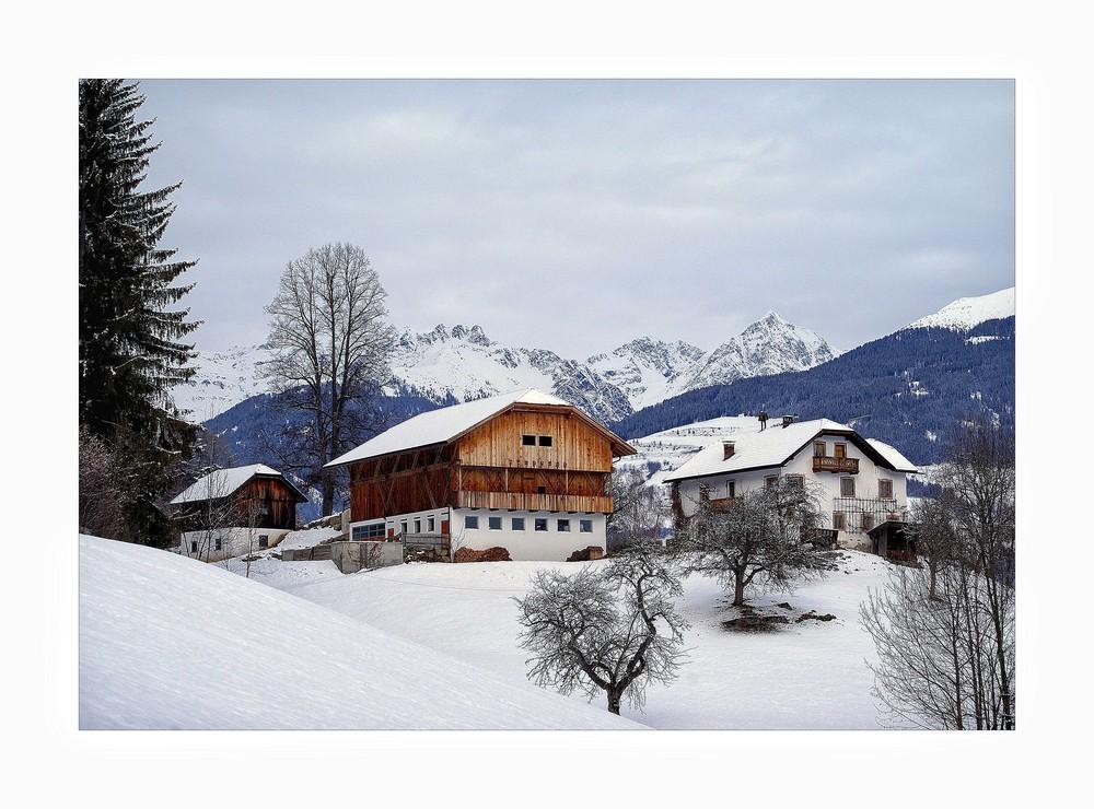 Winterzeit in den Alpen