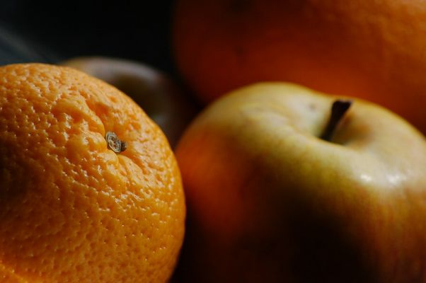 Winterzeit - Orangenzeit