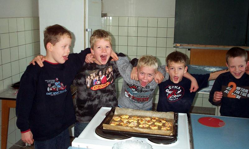 wir backen Kekse
