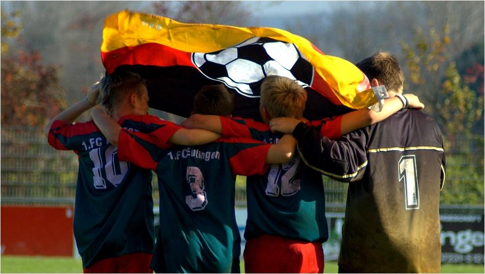 Wir haben eine Fahne..;-)