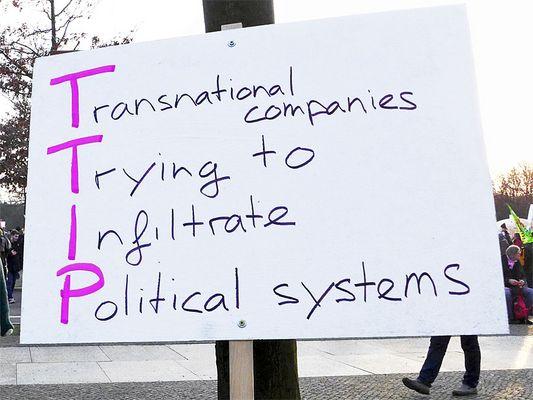 Wir haben es satt - TTIP