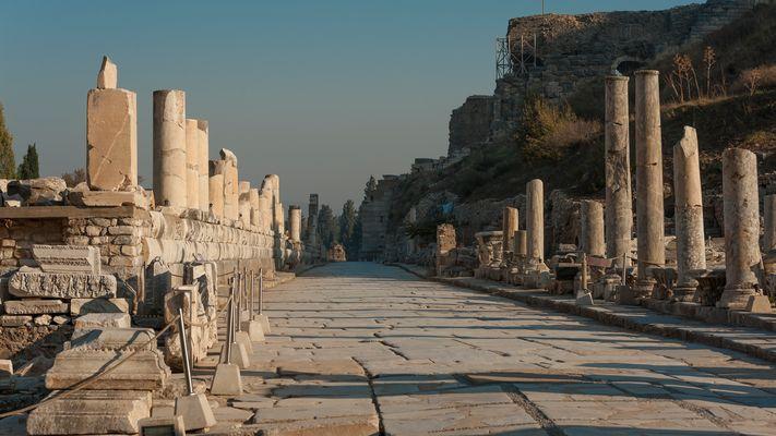 Wir hatten Ephesos für uns