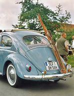 Wir leben unser Hobby - 1 - Der Käfer mit Skiern