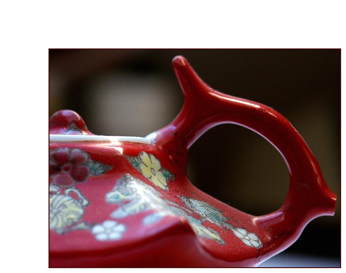 wir nähern uns dem Ende der chinesischen Teestunde