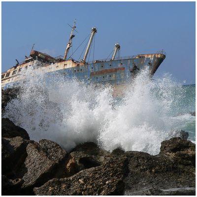 Wir sind arm, wir haben Schiffbruch gelitten,