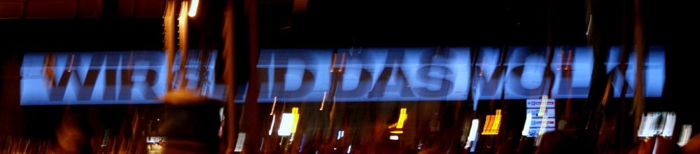 WIR SIND DAS VOLK / Leipzig am 9. Oktober 2010