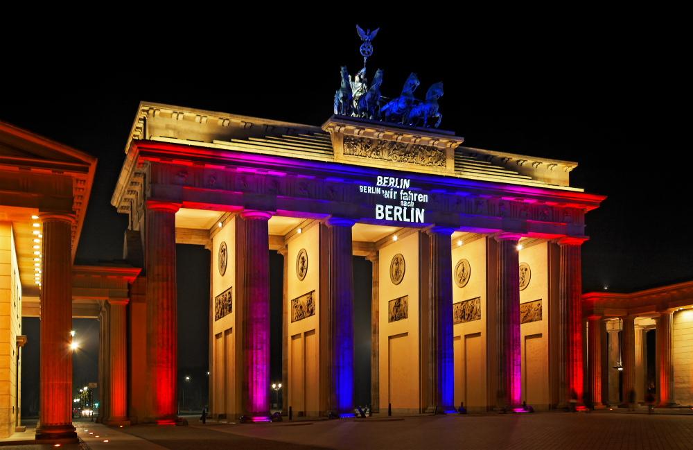... wir sind in Berlin ...