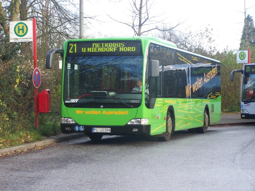 Wir suchen Aureden Bus in Hamburg
