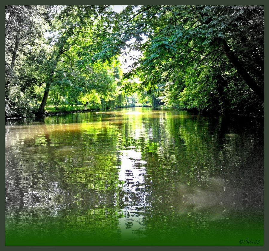 Wir treffen uns unten am Fluss!