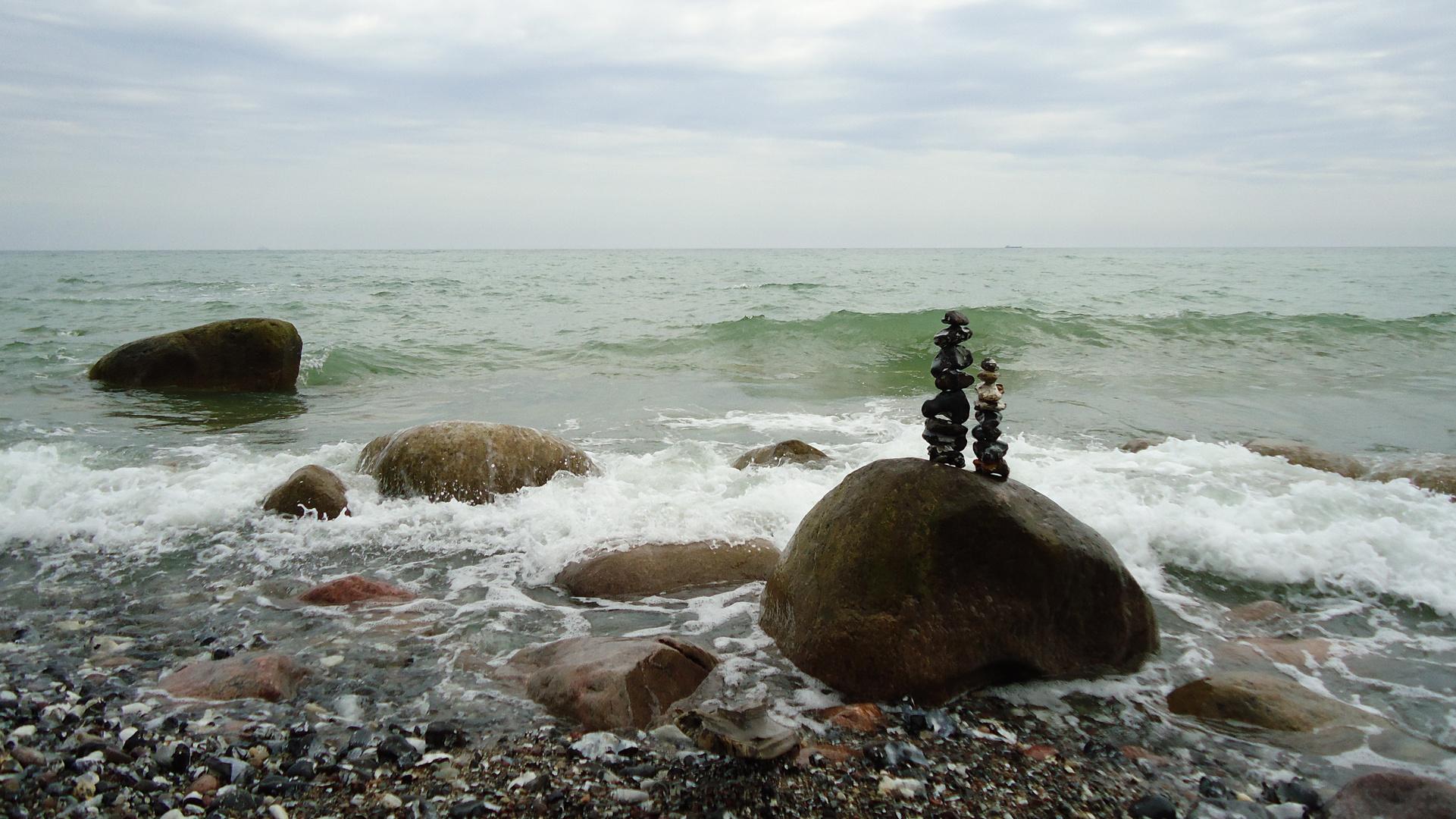 ... wir trotzen den Wellen