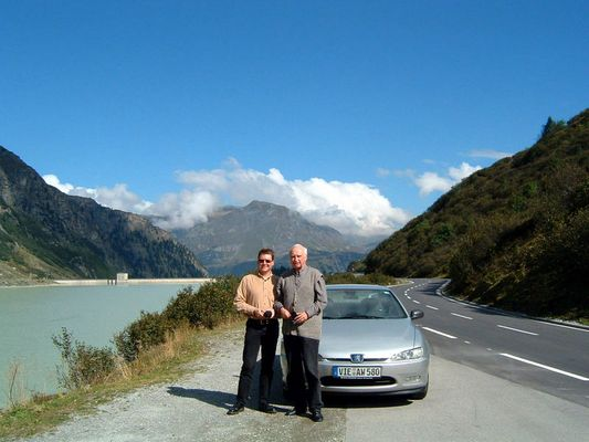 Wir unterwegs am Silvrettapass