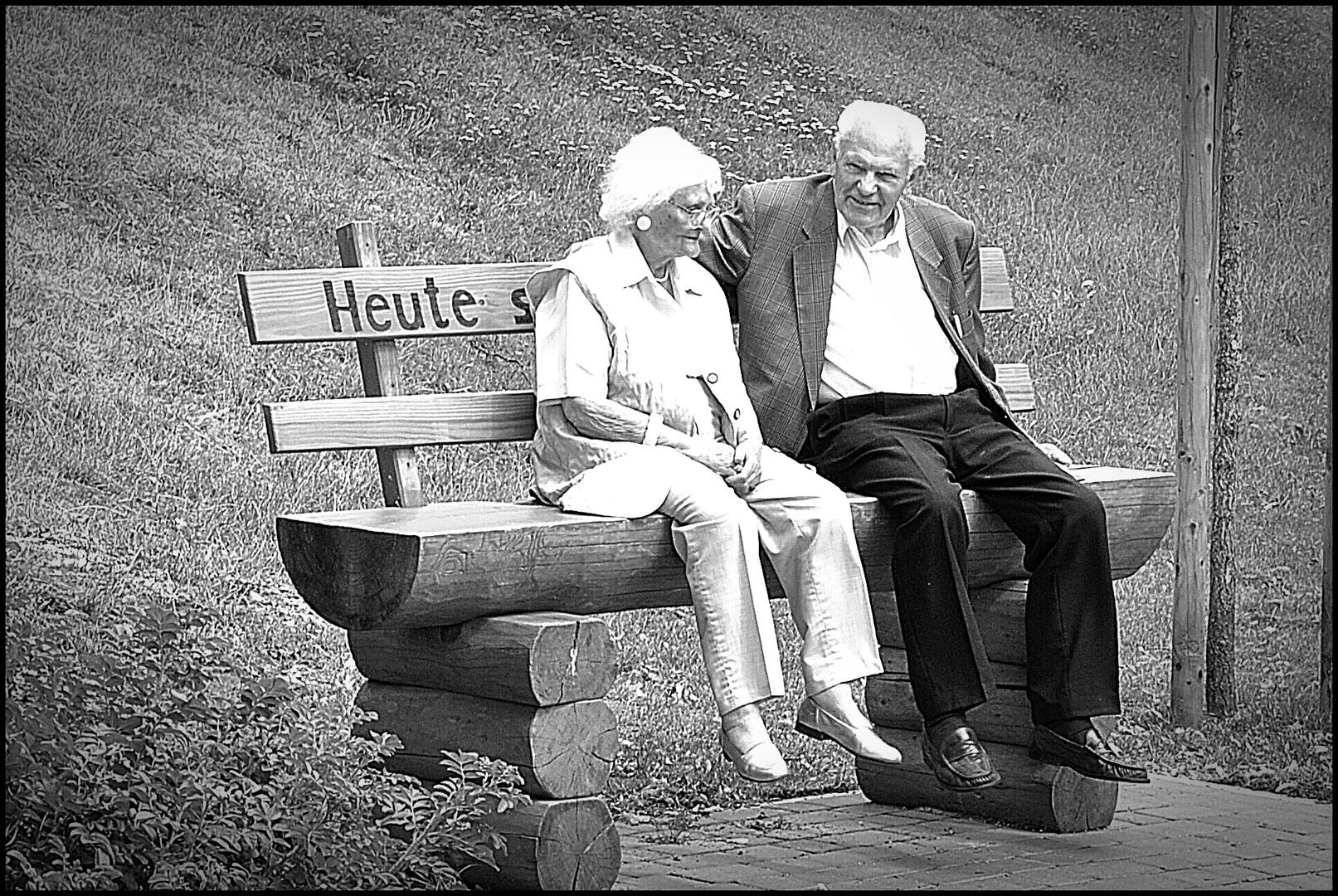 Wir werden nicht älter mit den Jahren, wir werden neuer jeden Tag.