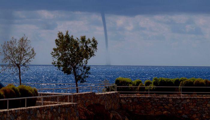 Wirbelsturm Südküste Kretas