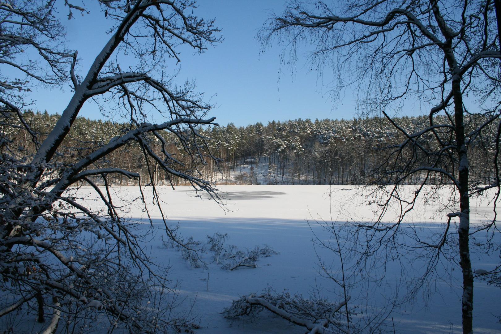 Wirchensee im Winter