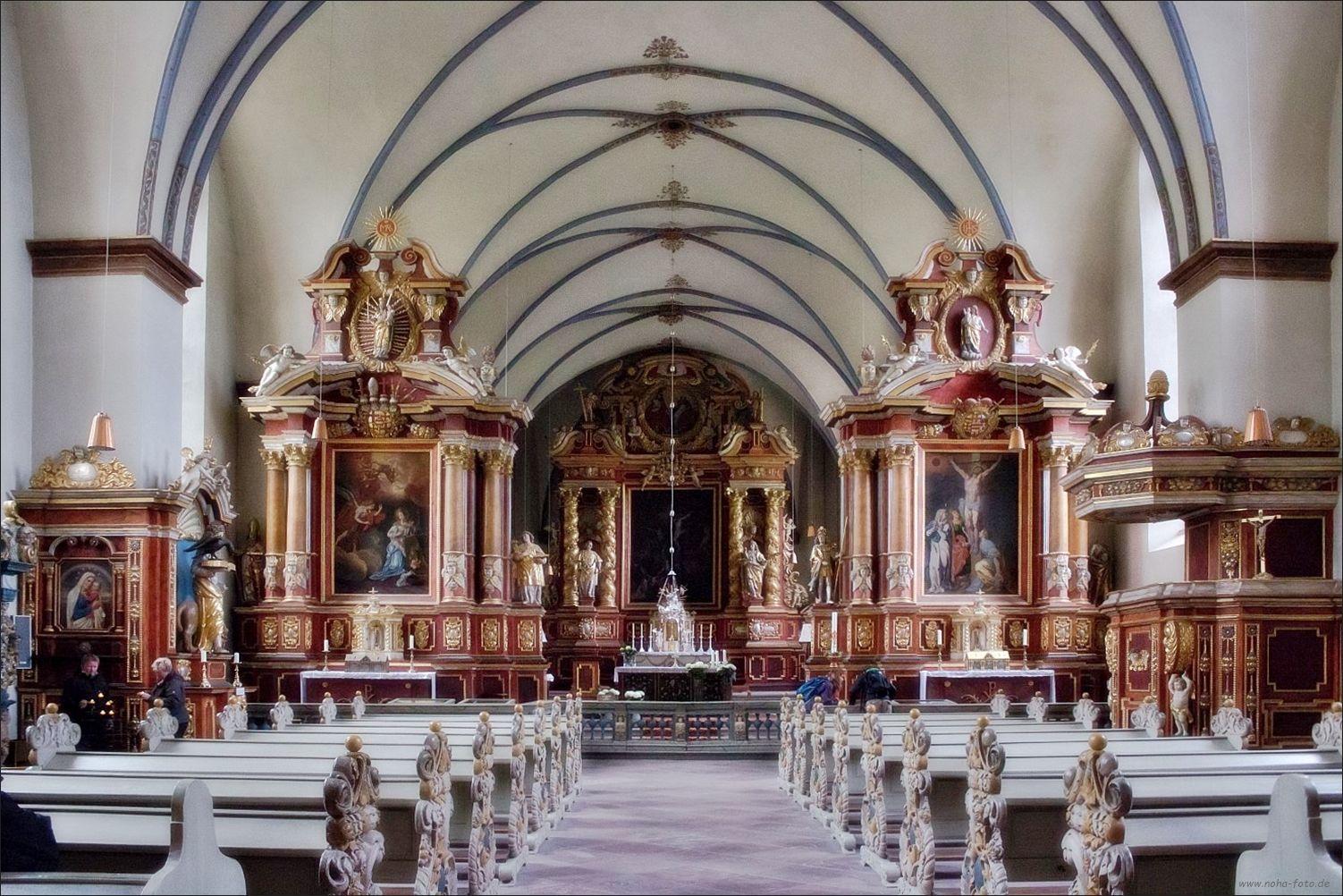 Wird die ehem. Klosterkirche Corvey im Juni zum Unesco Welterbe ernannt...