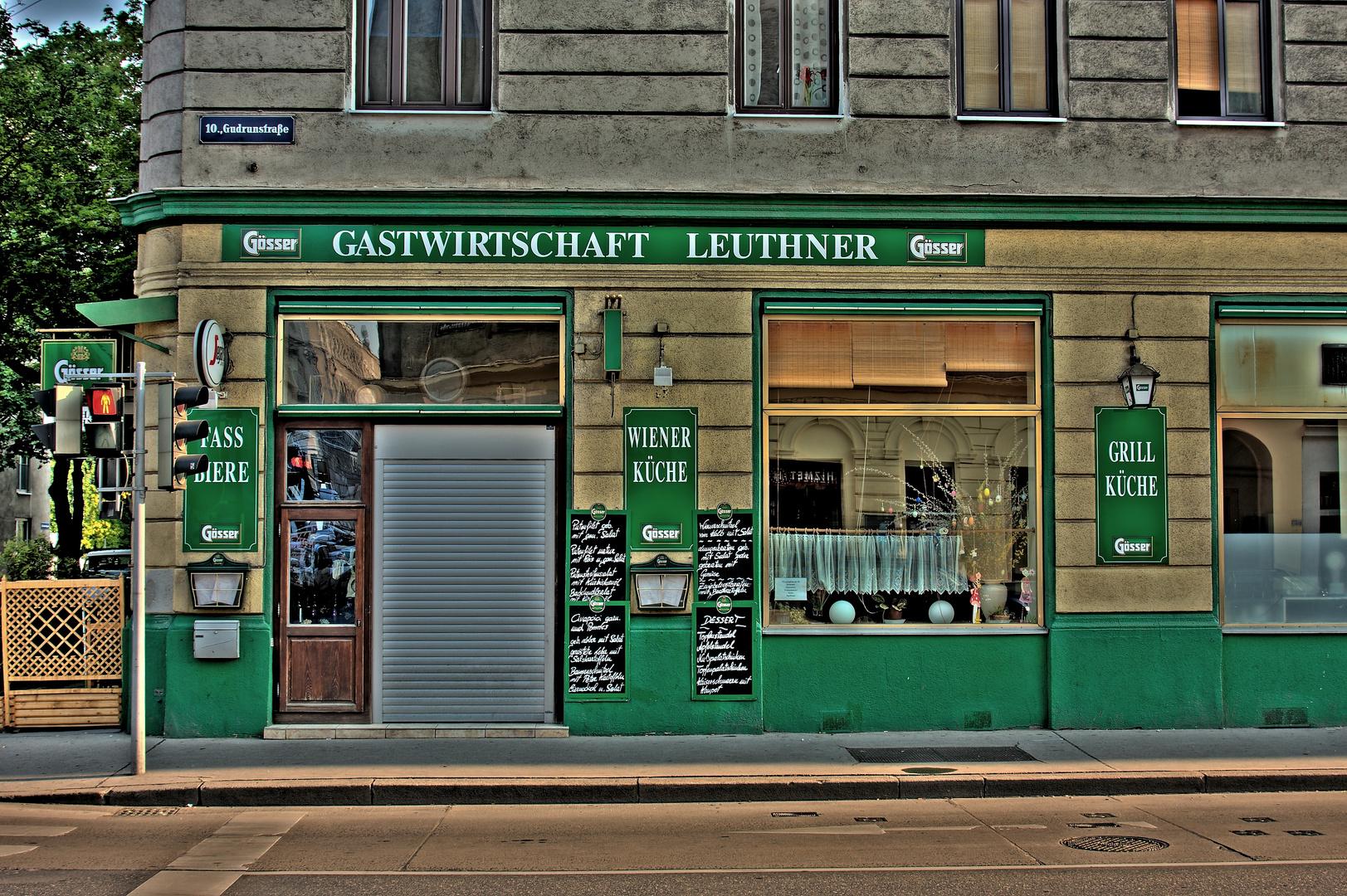 ''Wirtshaus-Kultur '' in Wien...