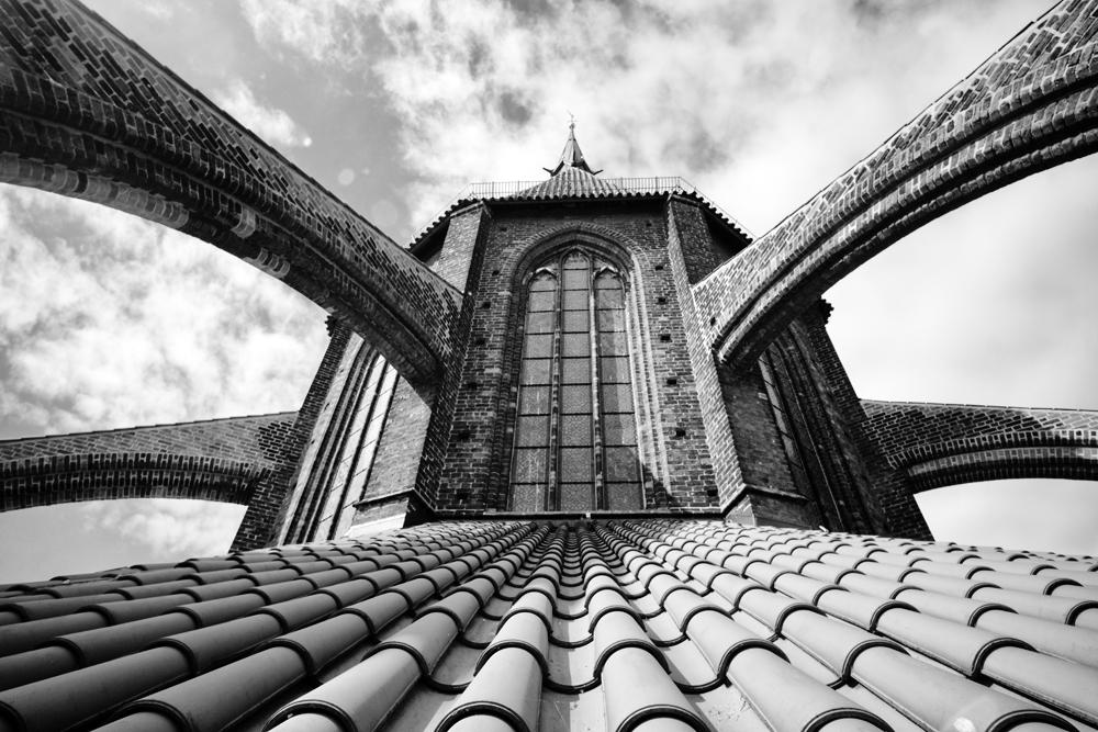 Wismar - auf dem Dach von St. Nikolai