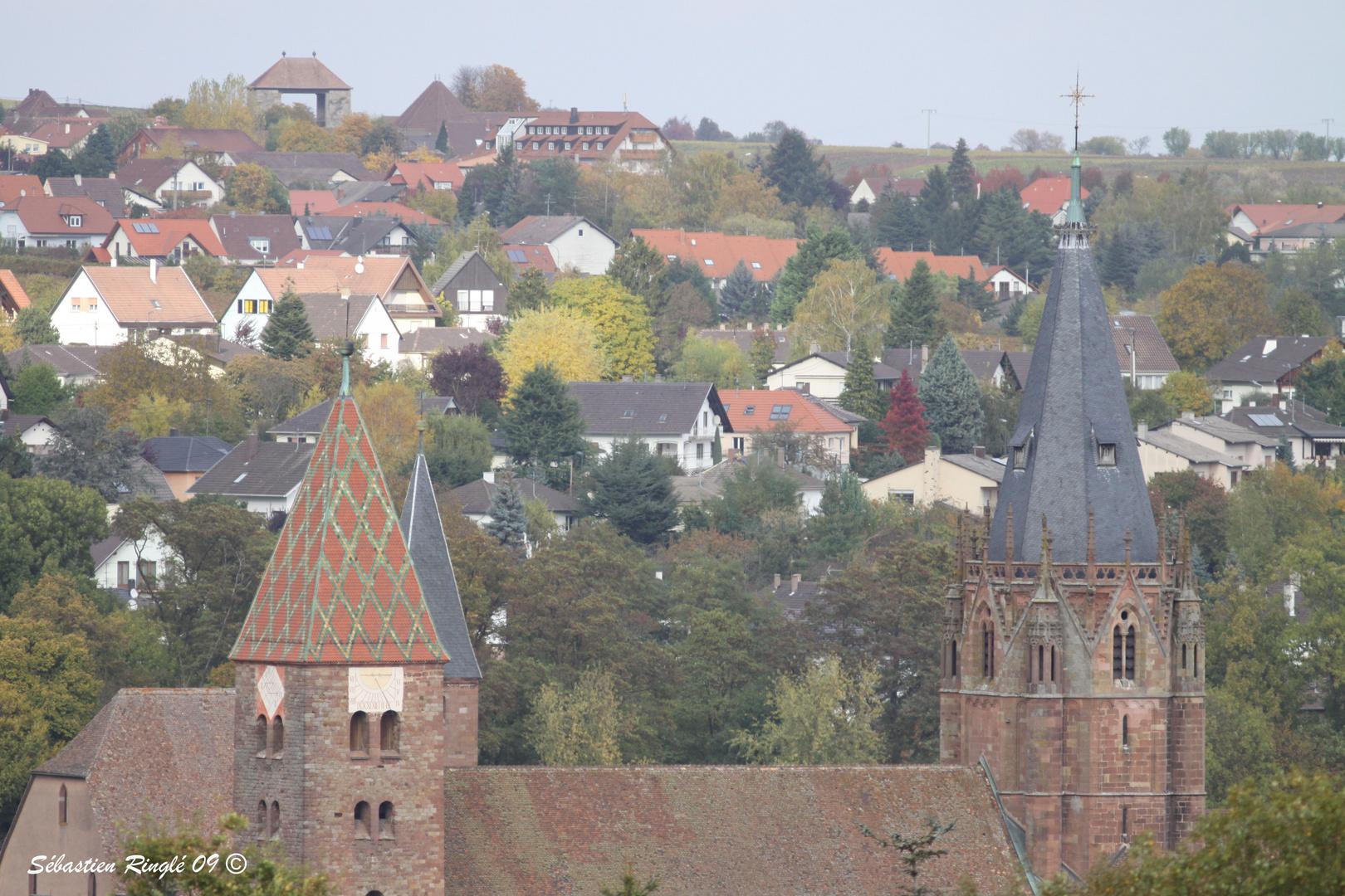 WIssembourg petite ville Alsacienne