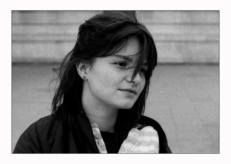 With Manu in Paris 1991.