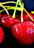 with me is not good cherry eating :)