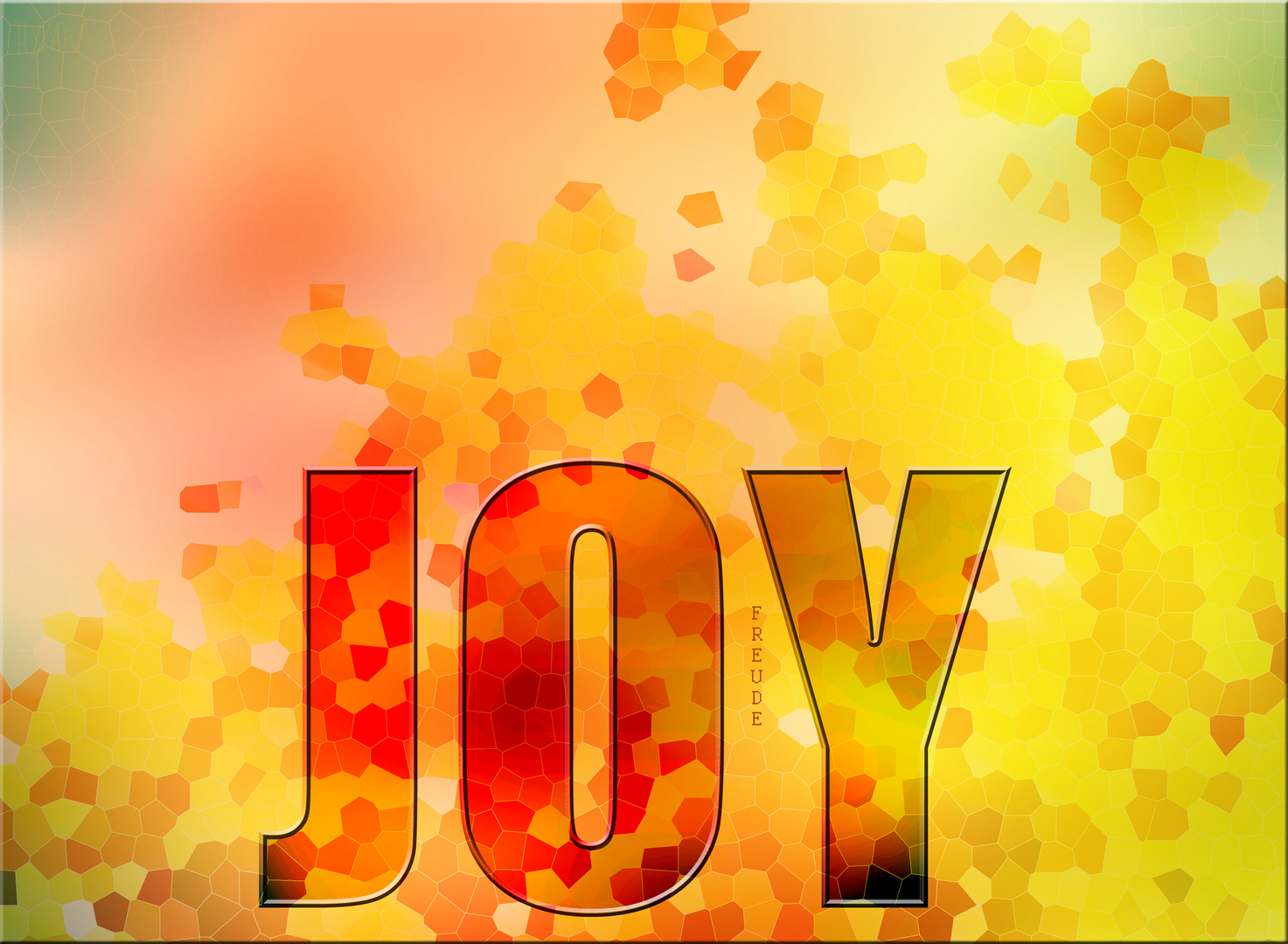 ... without a word . JOY