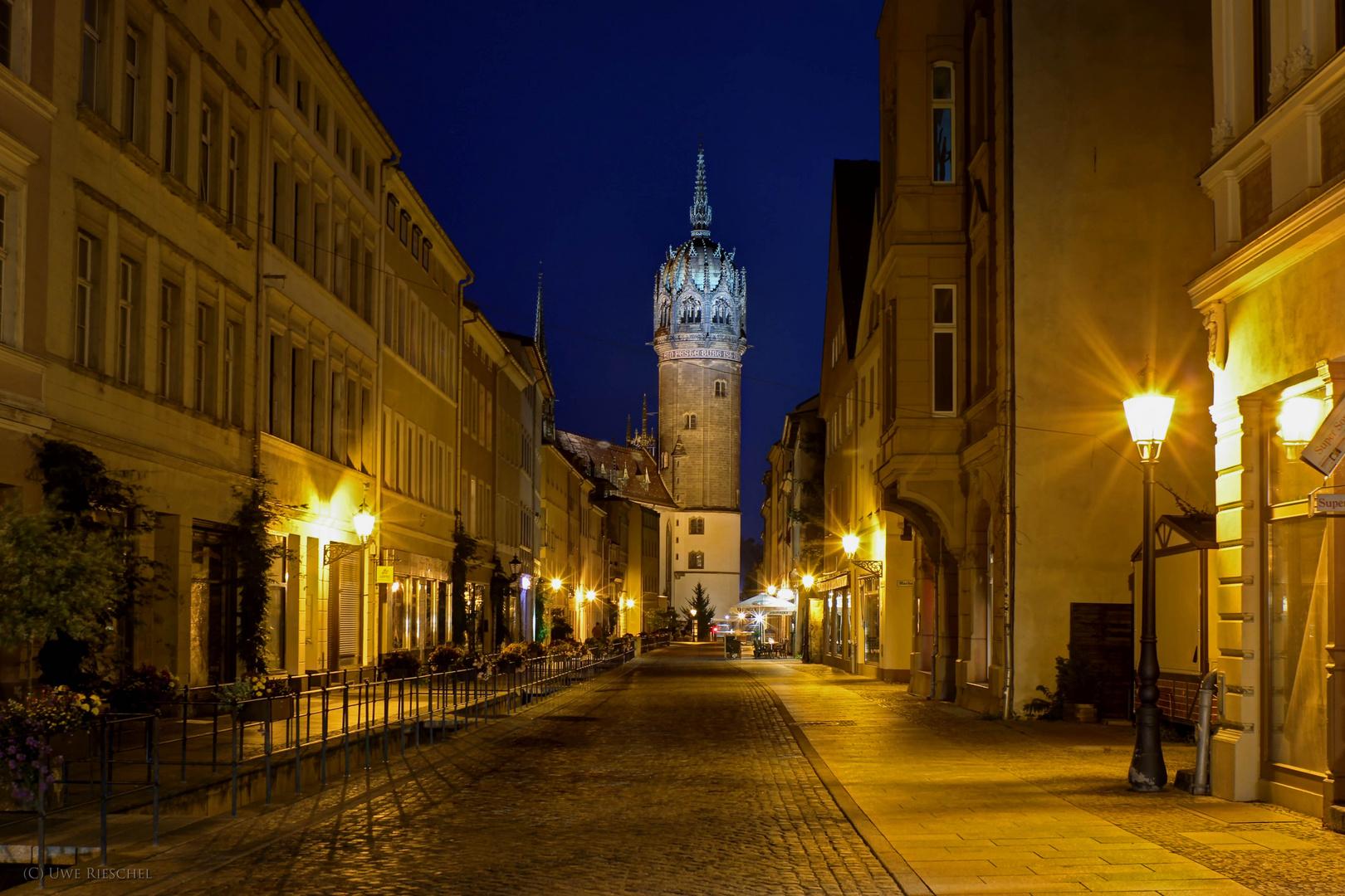 Wittenberg zur blauen Stunde II