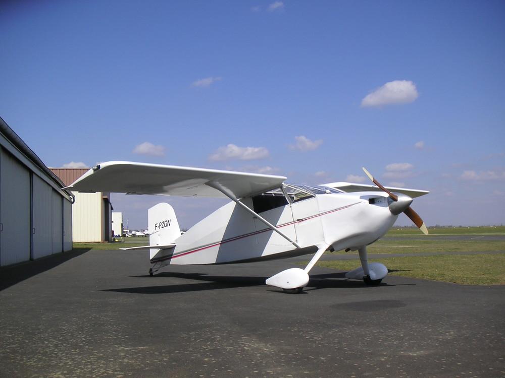 Wittman Tailwind W8, moteur Lycoming O-235