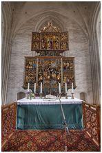 Wittstock - Marienkirche, Altaransicht