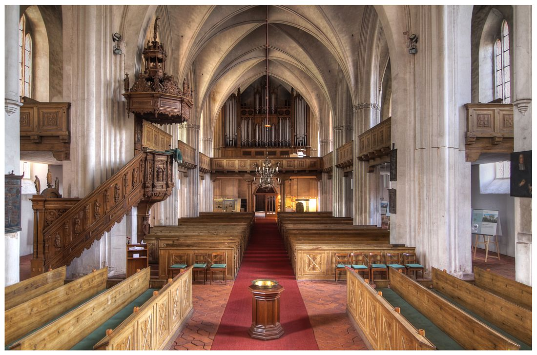 Wittstock - Marienkirche, Innenansicht 2