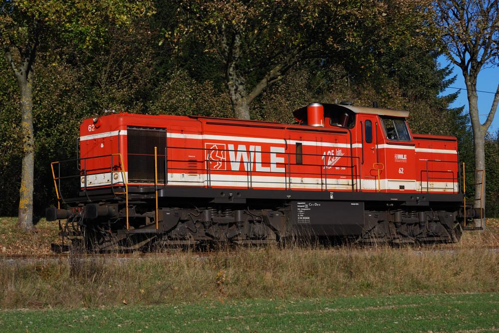 WLE 62 auf Rückfahrt