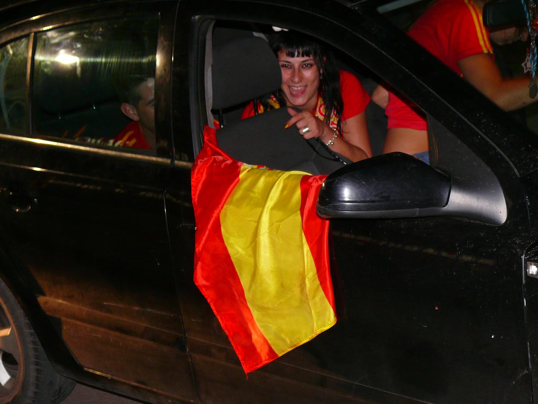 WM-Fiesta in allen Strassen