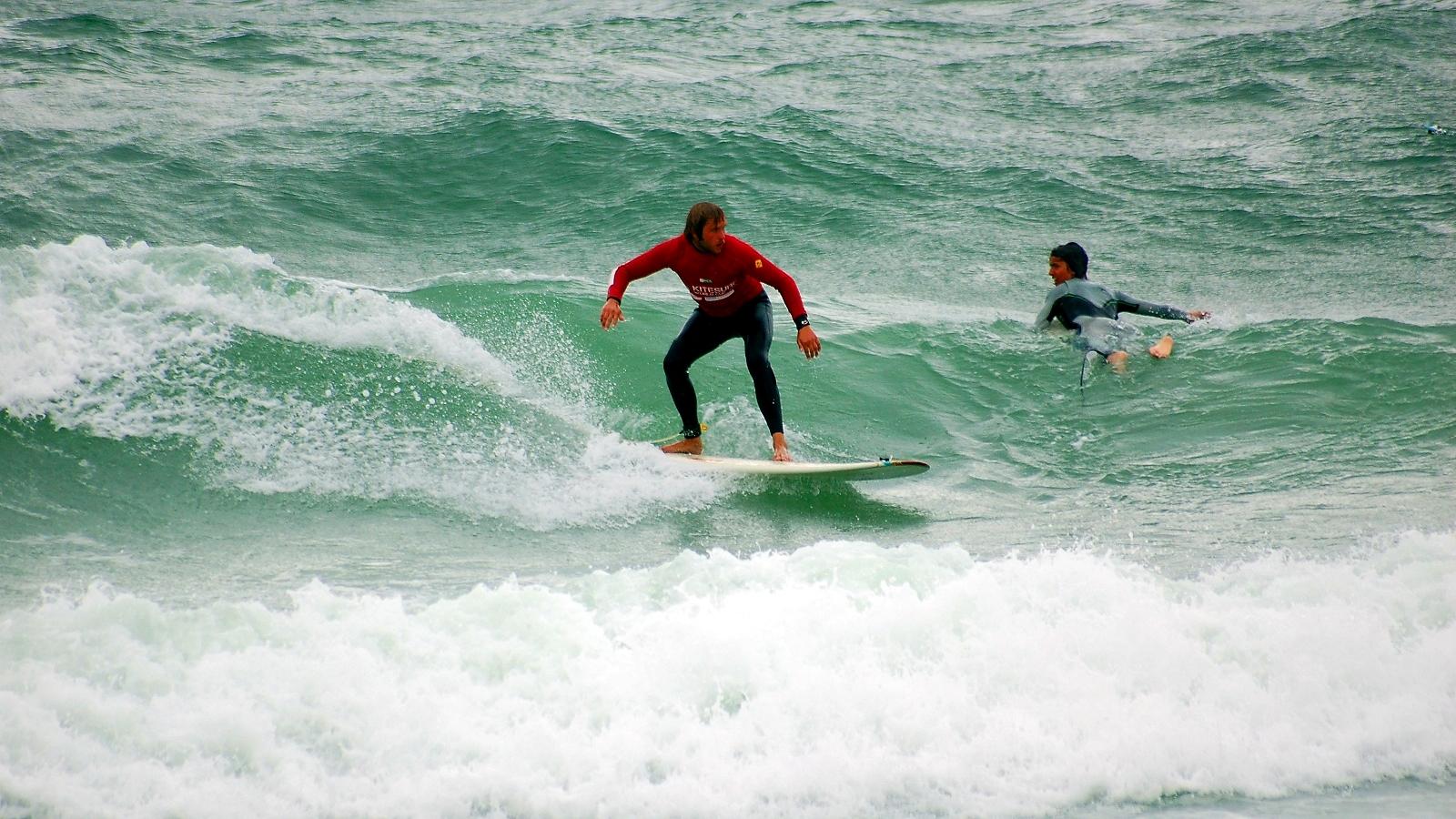 Wo bleiben die großen Wellen? Sylt_4932