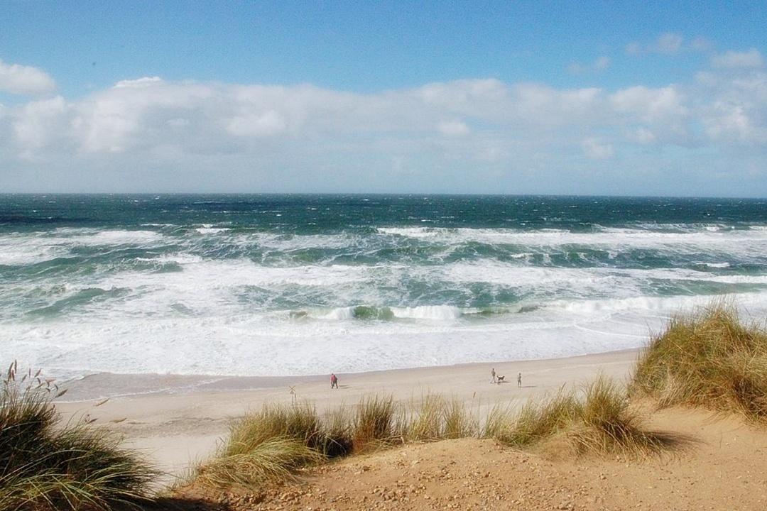 Wo die Nordseewellen...