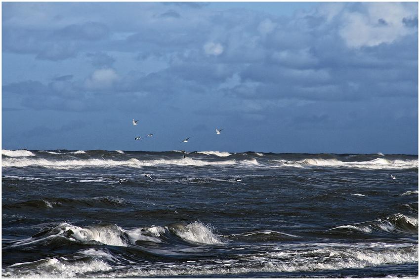 Wo die Nordseewellen…..